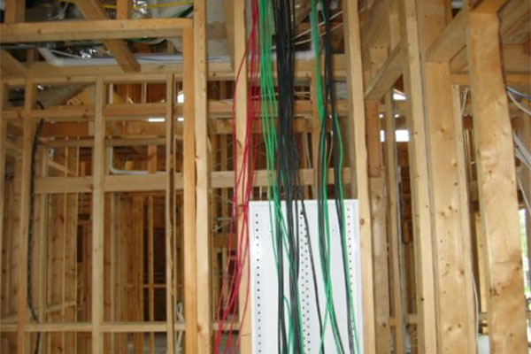 Structured audio / video wiring